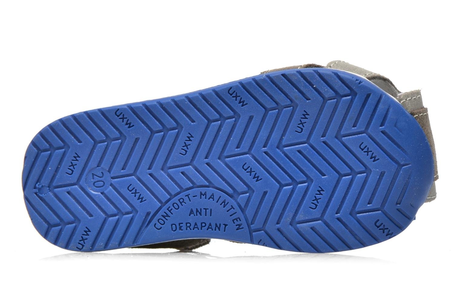 Sandals Bopy Zephiro Grey view from above