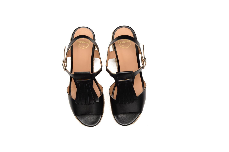 Sandalen Made by SARENZA Discow Girl #1 schwarz schuhe getragen