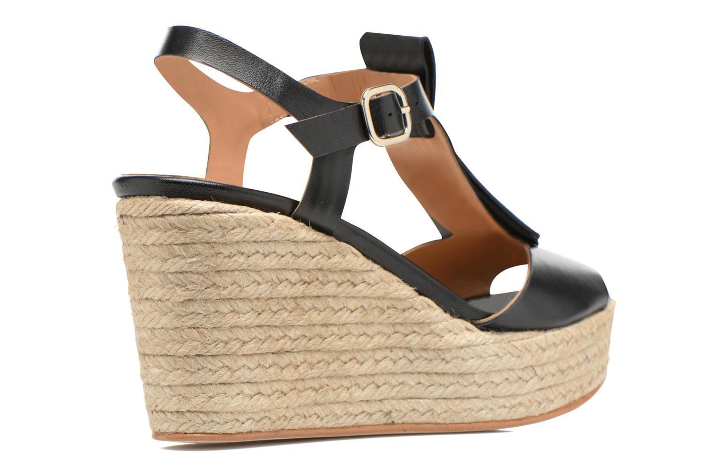 Sandalen Made by SARENZA Discow Girl #1 schwarz ansicht von vorne
