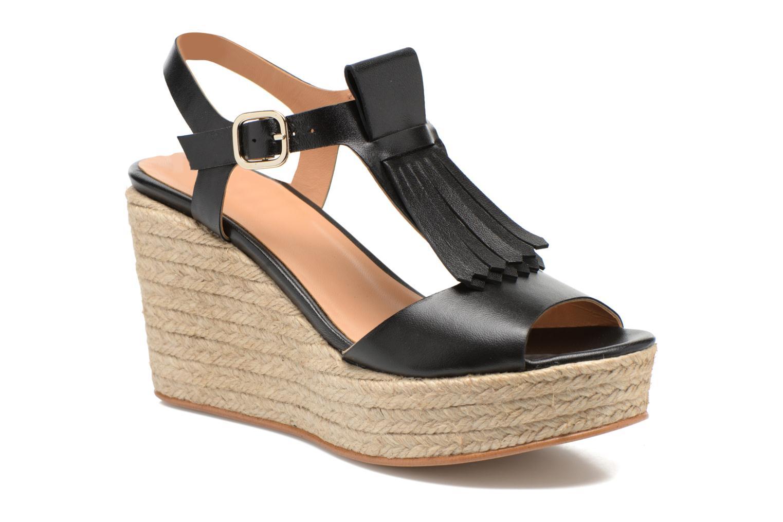 Sandalen Made by SARENZA Discow Girl #1 schwarz ansicht von rechts