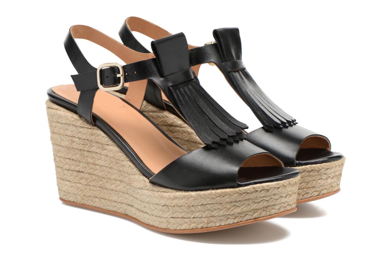 Sandalen Made by SARENZA Discow Girl #1 schwarz ansicht von hinten