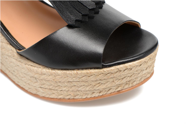 Sandalen Made by SARENZA Discow Girl #1 schwarz ansicht von links