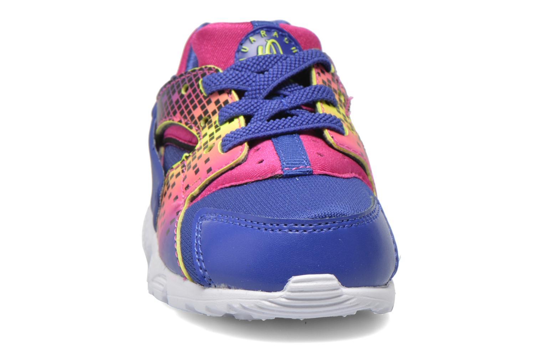 Sneaker Nike Nike Huarache Run Print (Td) lila schuhe getragen