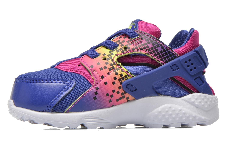 Sneaker Nike Nike Huarache Run Print (Td) lila ansicht von vorne