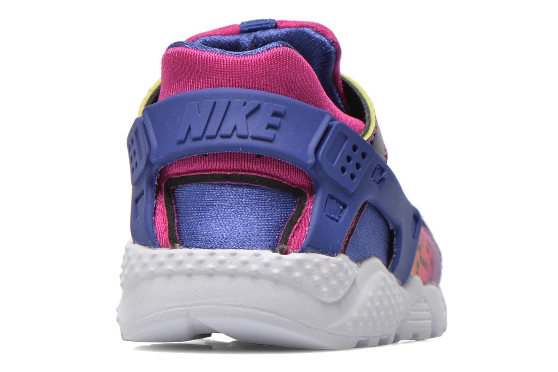 Sneaker Nike Nike Huarache Run Print (Td) lila ansicht von rechts