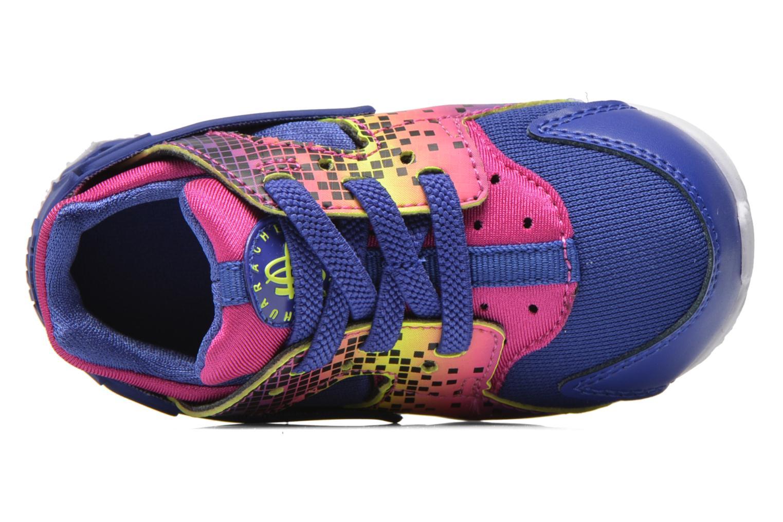 Sneaker Nike Nike Huarache Run Print (Td) lila ansicht von links