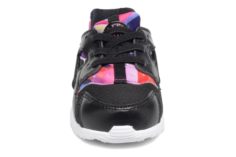 Baskets Nike Nike Huarache Run Print (Td) Noir vue portées chaussures
