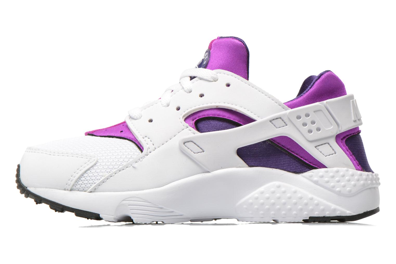 Nike Huarache Run (Ps) White White-Hypr Vlt-Crt Prpl