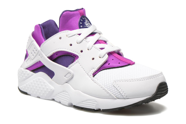 Trainers Nike Nike Huarache Run (Ps) White detailed view/ Pair view
