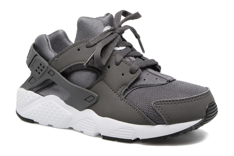 Sneakers Nike Nike Huarache Run (Ps) Grå detaljerad bild på paret