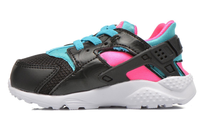Sneaker Nike Nike Huarache Run (Td) schwarz ansicht von vorne