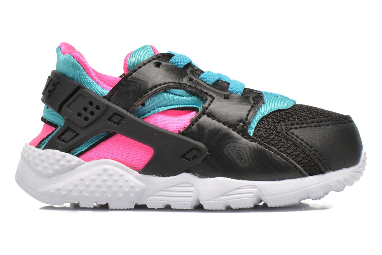 Nike Huarache Run (Td) Black White-Pink Blast-Gmm Bl