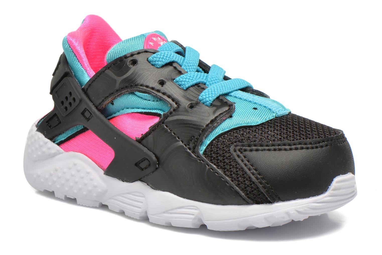 Trainers Nike Nike Huarache Run (Td) Black detailed view/ Pair view