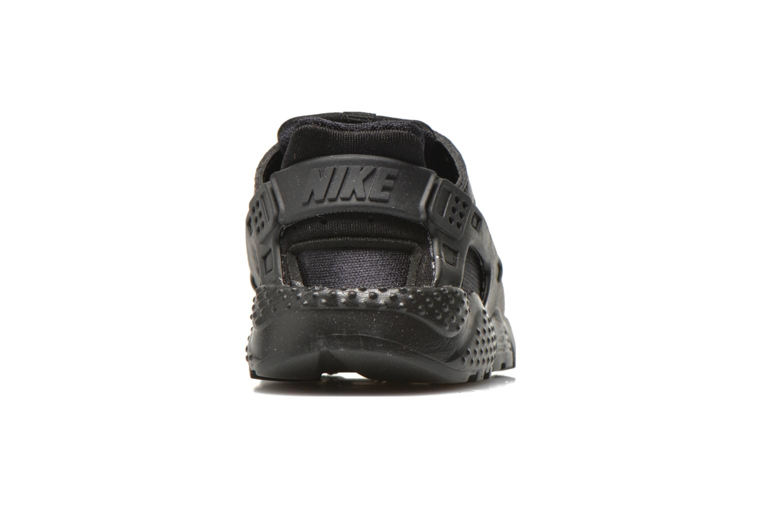 Trainers Nike Nike Huarache Run (Td) Black view from the right