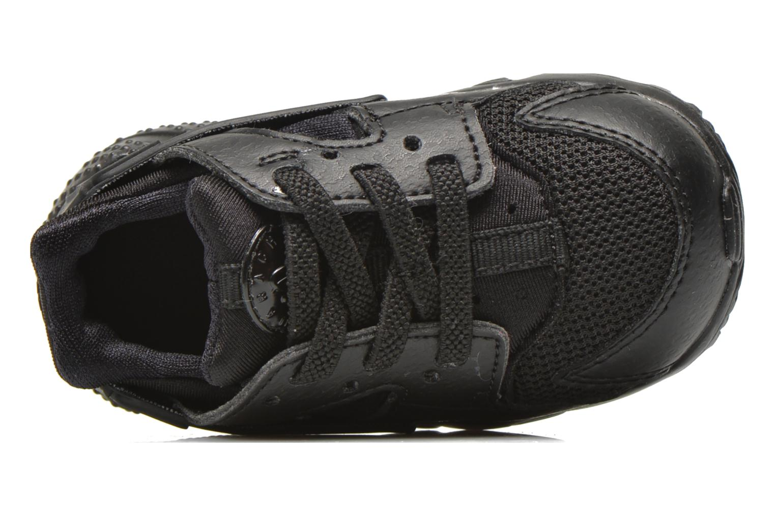 Trainers Nike Nike Huarache Run (Td) Black view from the left