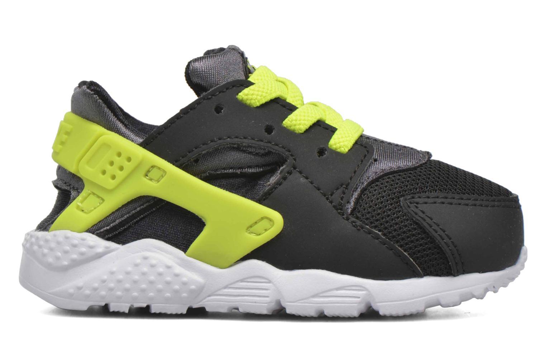 Nike Huarache Run (Td) Black/volt-dark grey-white