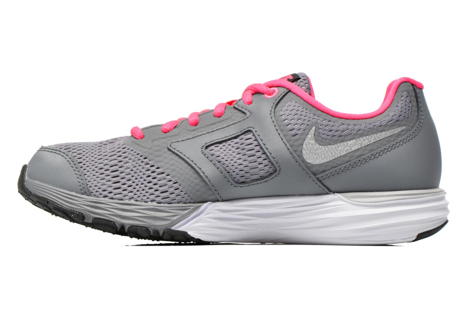 Trainers Nike Tri Fusion Run (Gs) Grey front view