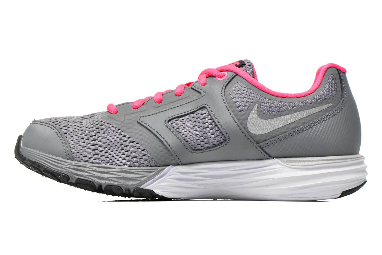 Baskets Nike Tri Fusion Run (Gs) Gris vue face