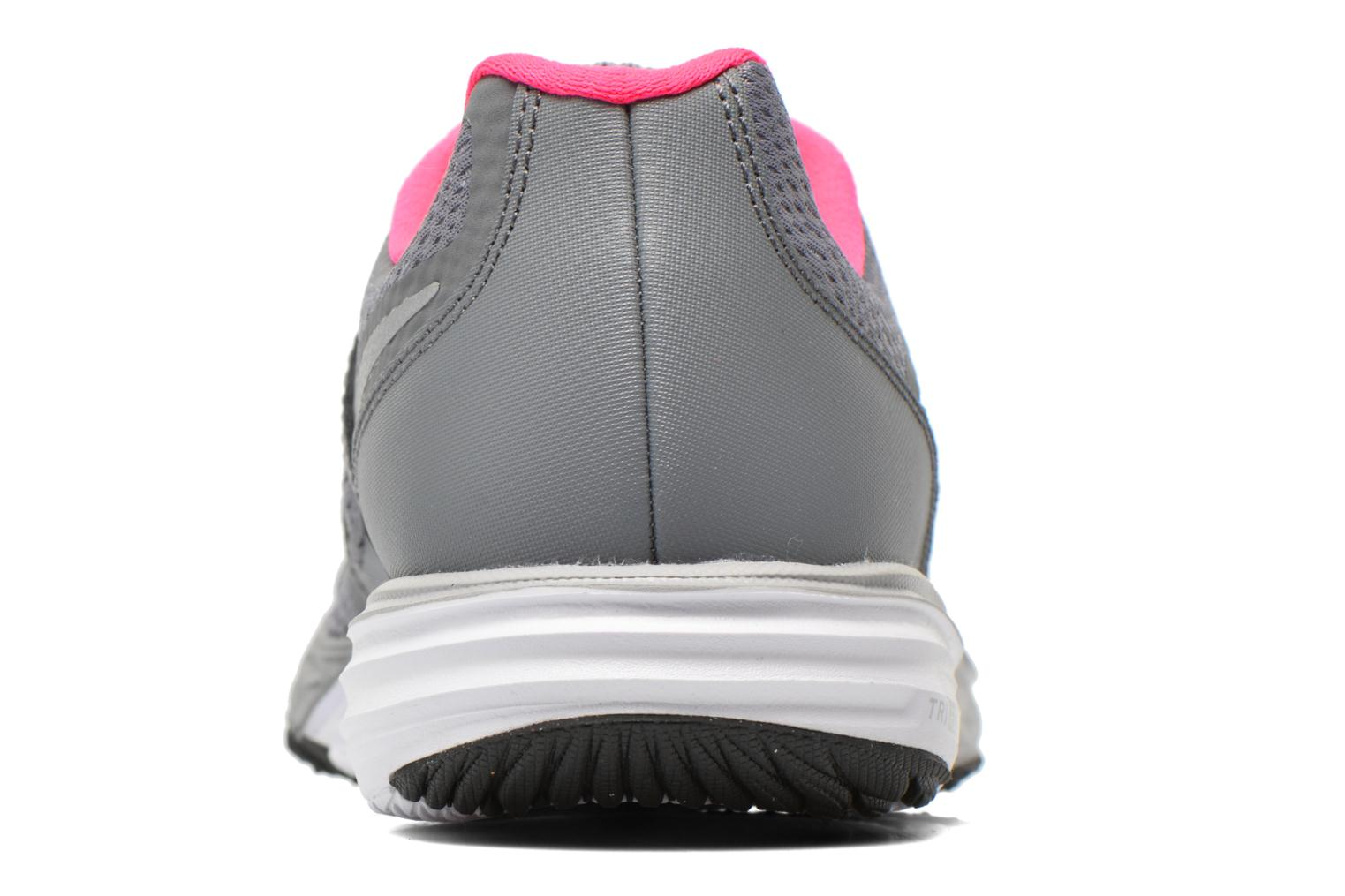 Trainers Nike Tri Fusion Run (Gs) Grey view from the right