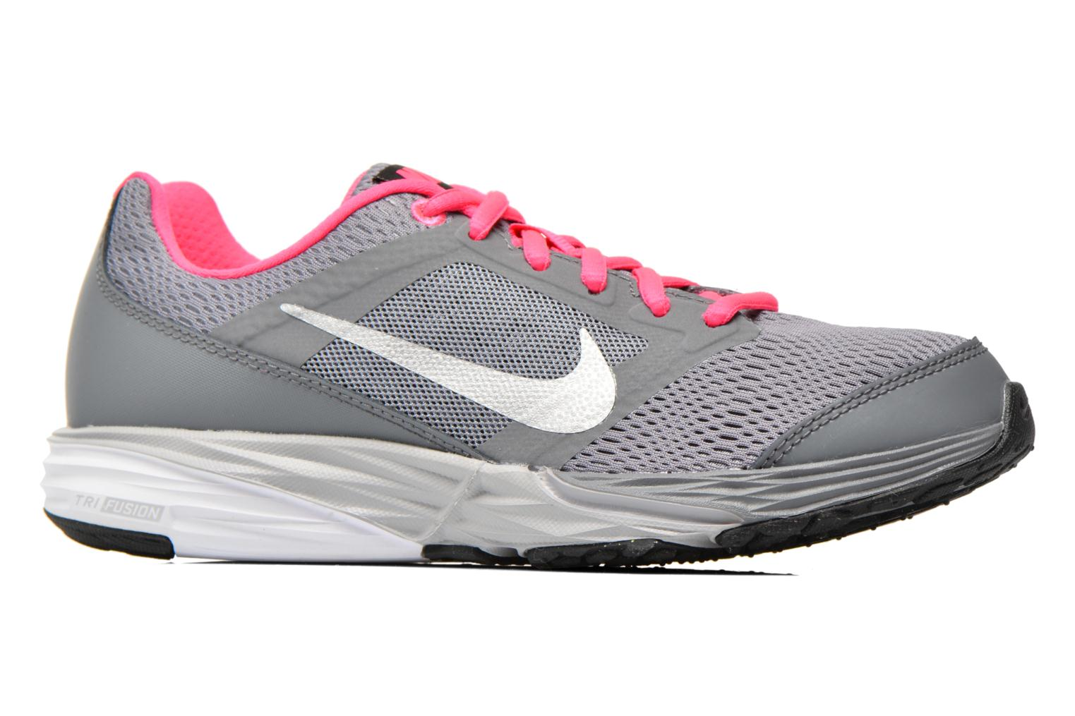 Trainers Nike Tri Fusion Run (Gs) Grey back view