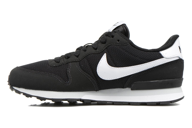 Sneaker Nike Internationalist (Gs) schwarz ansicht von vorne