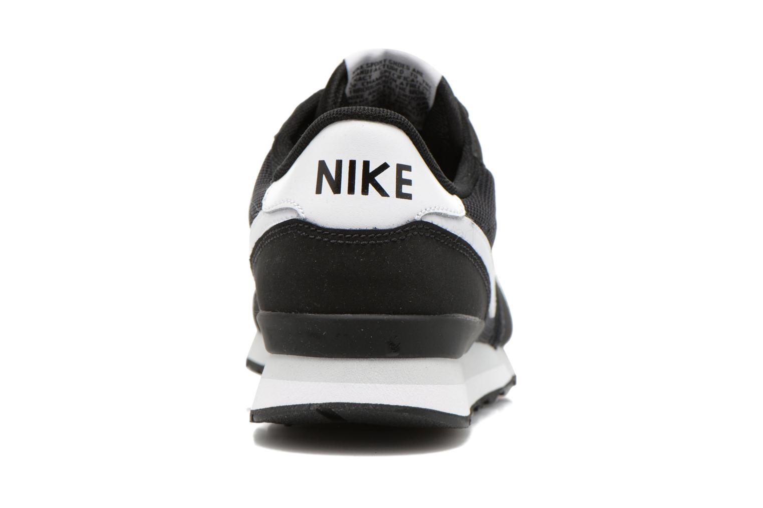 Trainers Nike Internationalist (Gs) Black view from the right