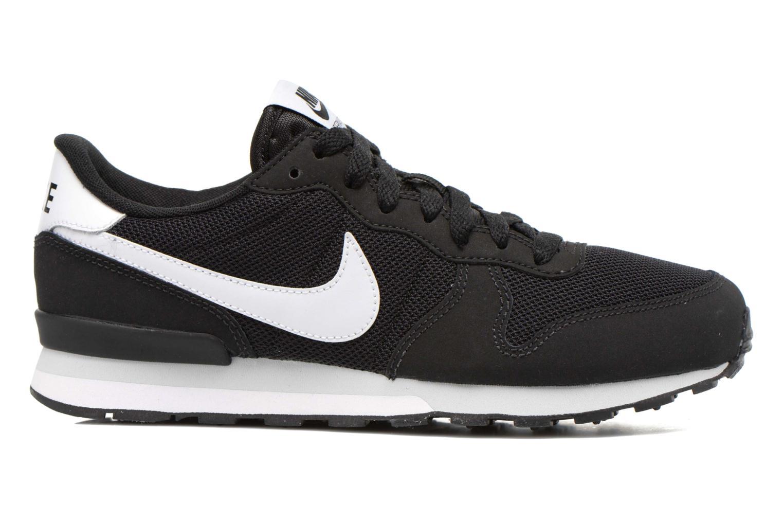 Sneaker Nike Internationalist (Gs) schwarz ansicht von hinten