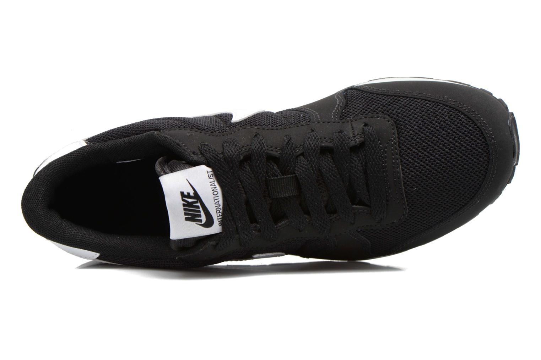 Sneaker Nike Internationalist (Gs) schwarz ansicht von links