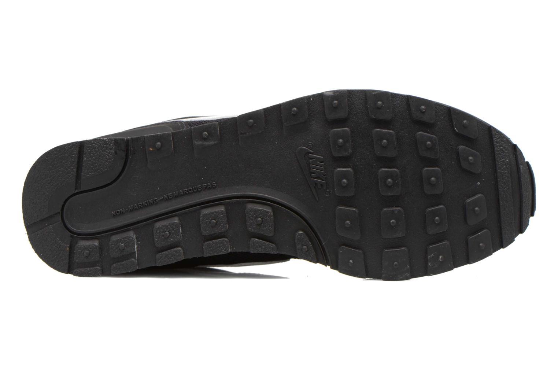 Sneaker Nike Internationalist (Gs) schwarz ansicht von oben