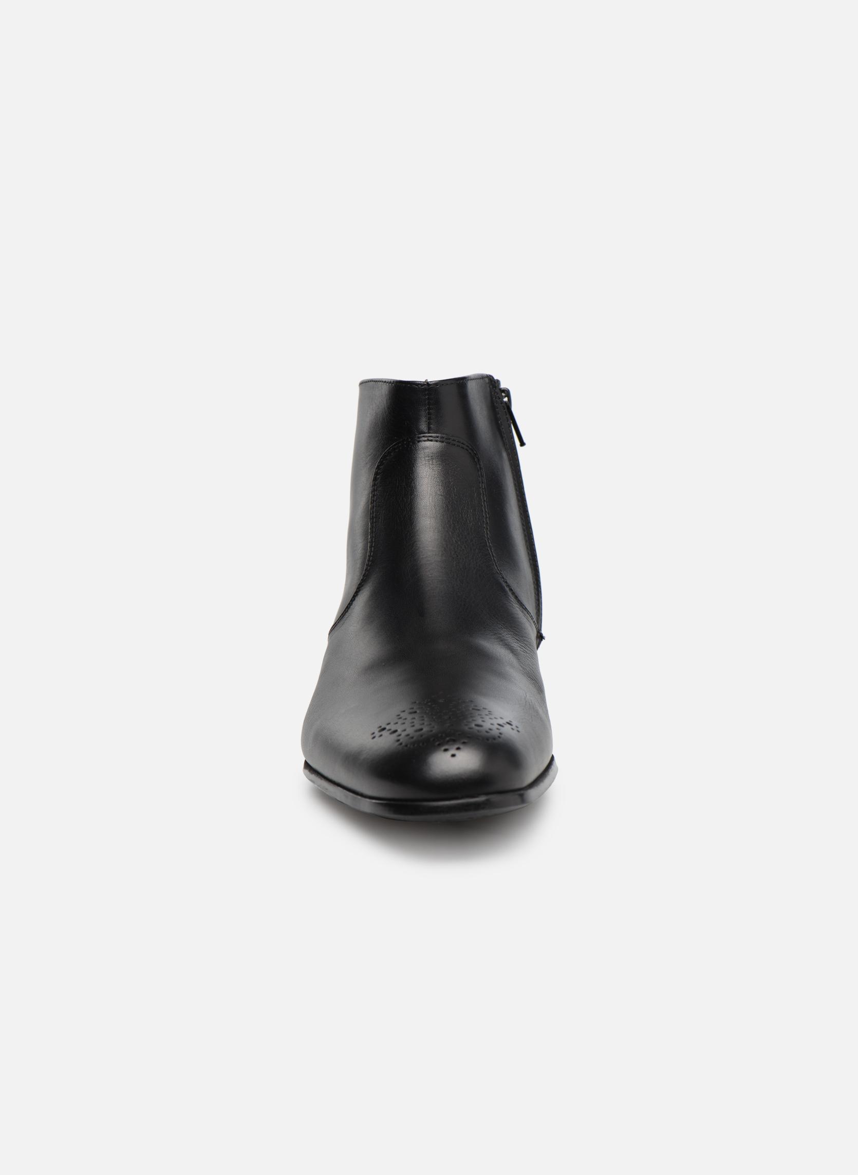 Stiefeletten & Boots Jean-Baptiste Rautureau Rija Boots perfo schwarz schuhe getragen