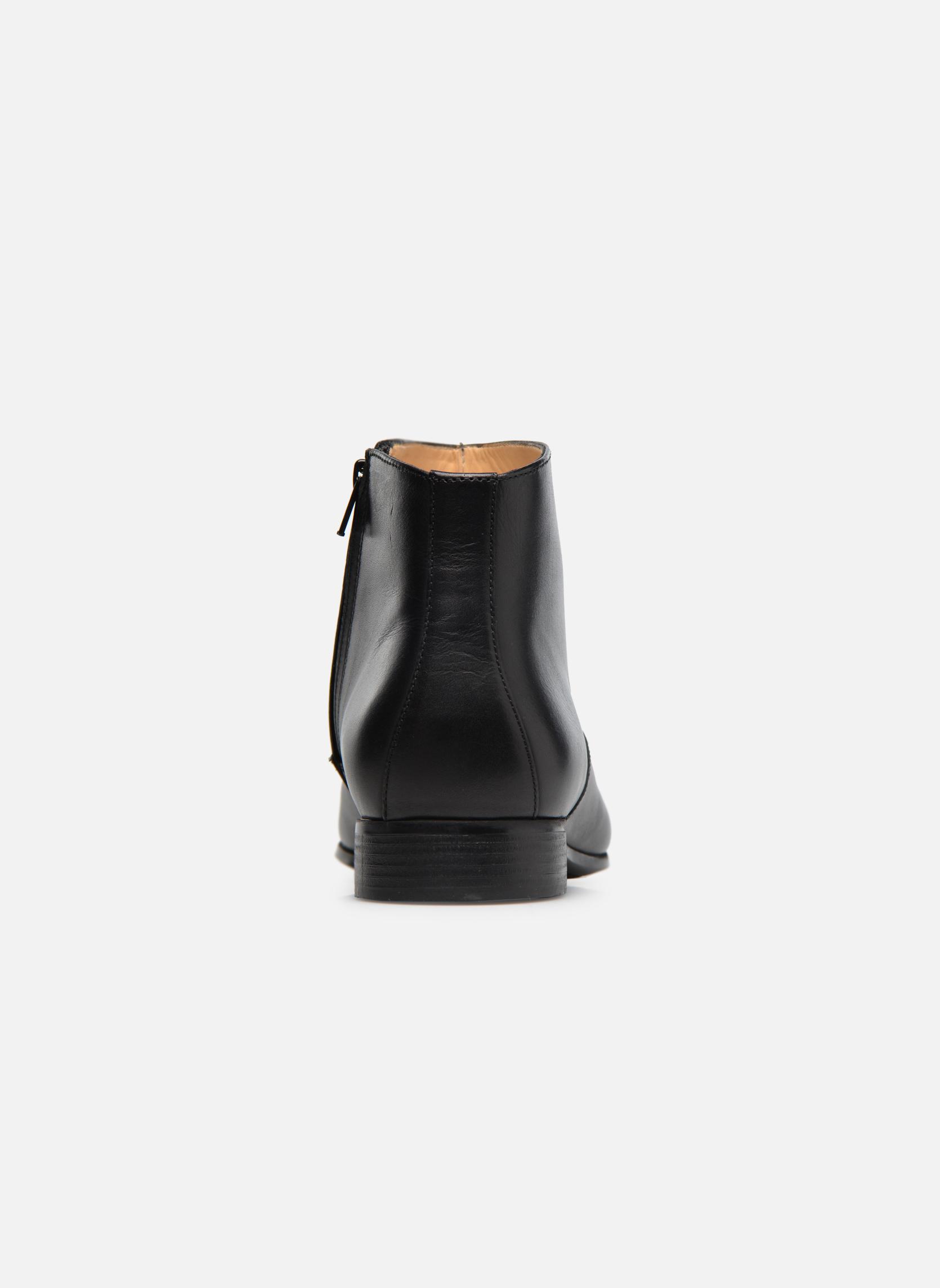 Boots en enkellaarsjes Jean-Baptiste Rautureau Rija Boots perfo Zwart rechts