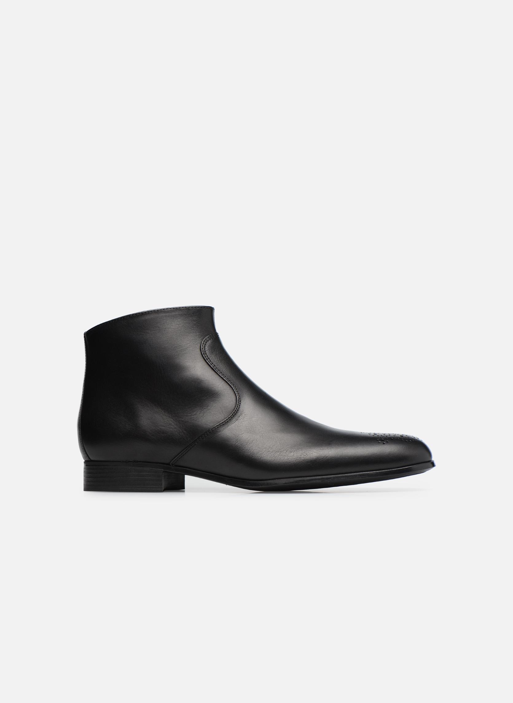 Boots en enkellaarsjes Jean-Baptiste Rautureau Rija Boots perfo Zwart achterkant