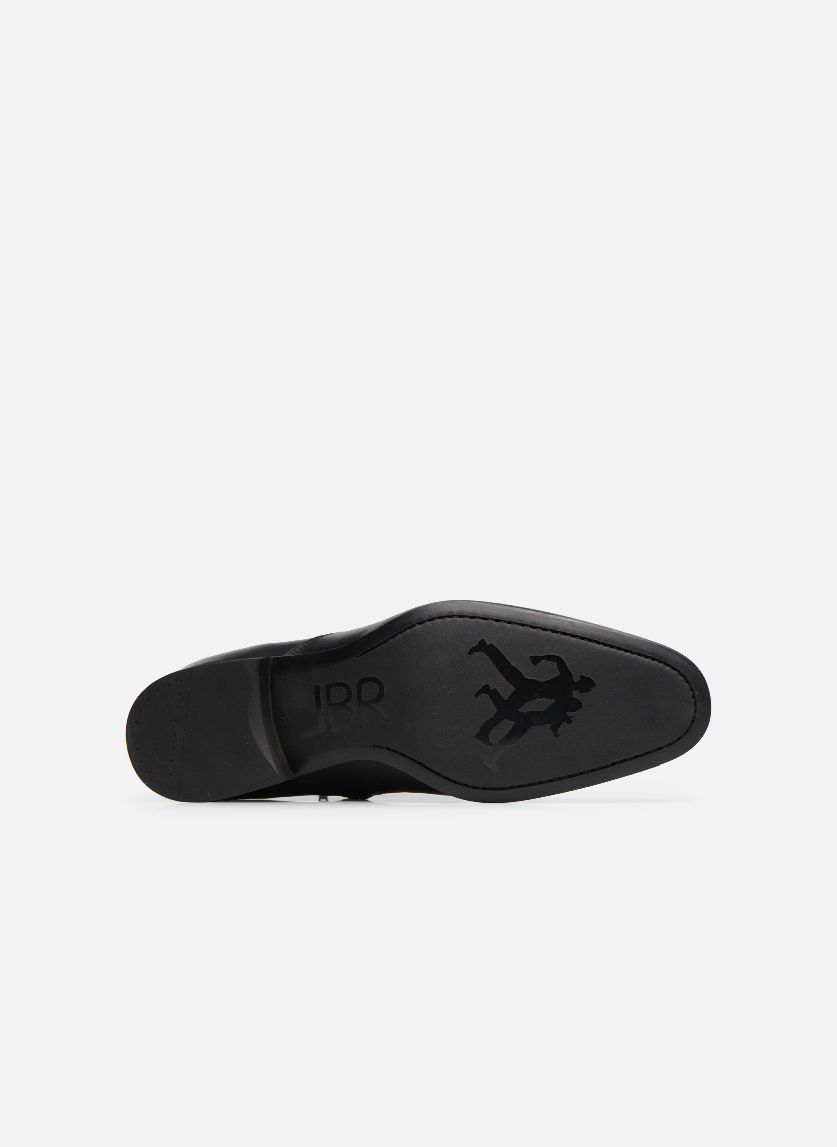 Bottines et boots Jean-Baptiste Rautureau Rija Boots perfo Noir vue haut