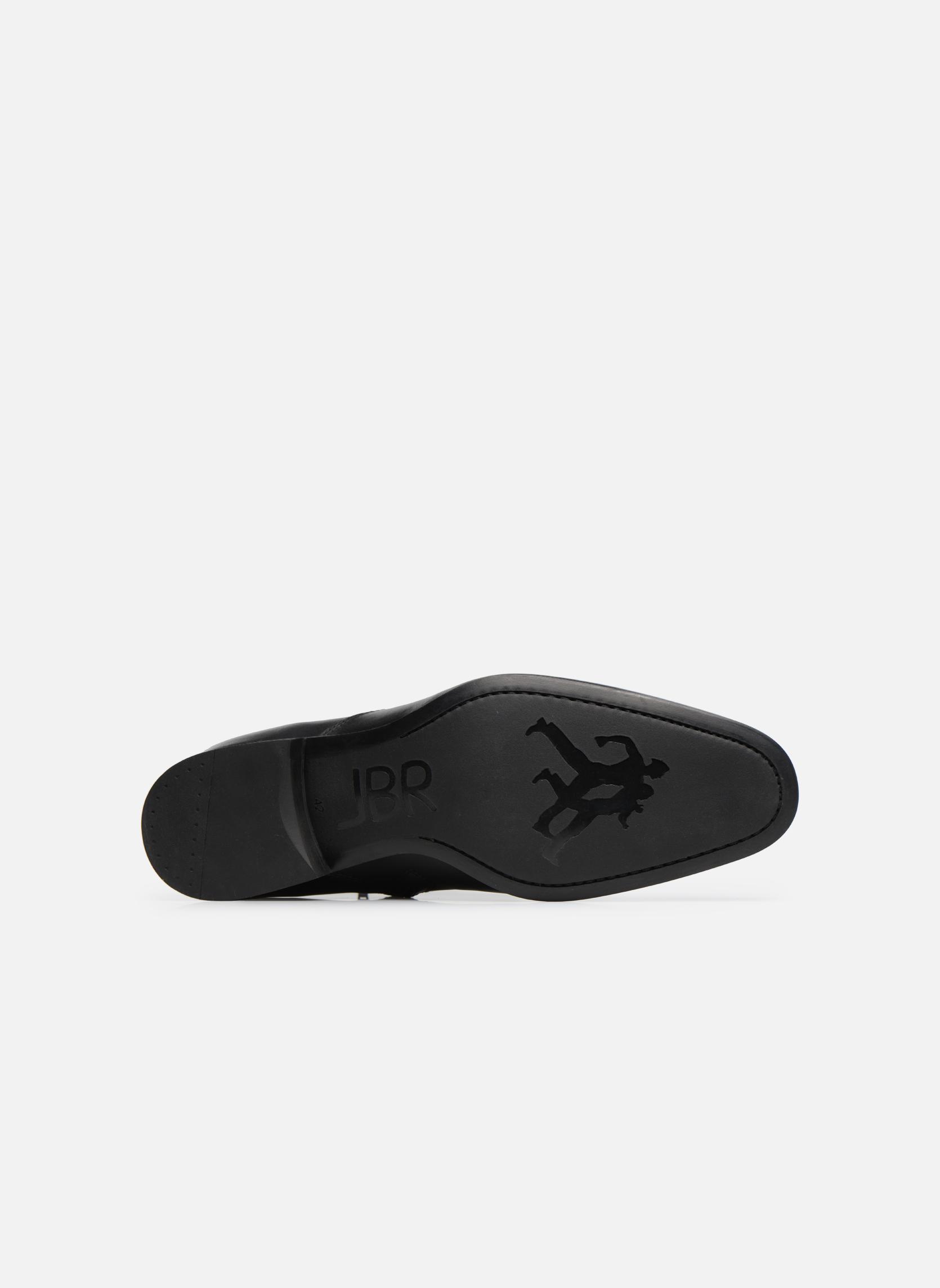 Boots en enkellaarsjes Jean-Baptiste Rautureau Rija Boots perfo Zwart boven