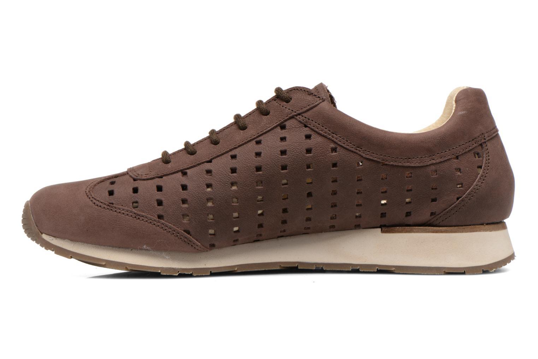 Sneakers El Naturalista Walky ND98 Bruin voorkant