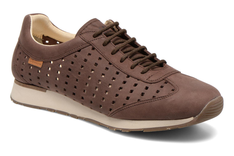 Sneakers El Naturalista Walky ND98 Brun detaljeret billede af skoene