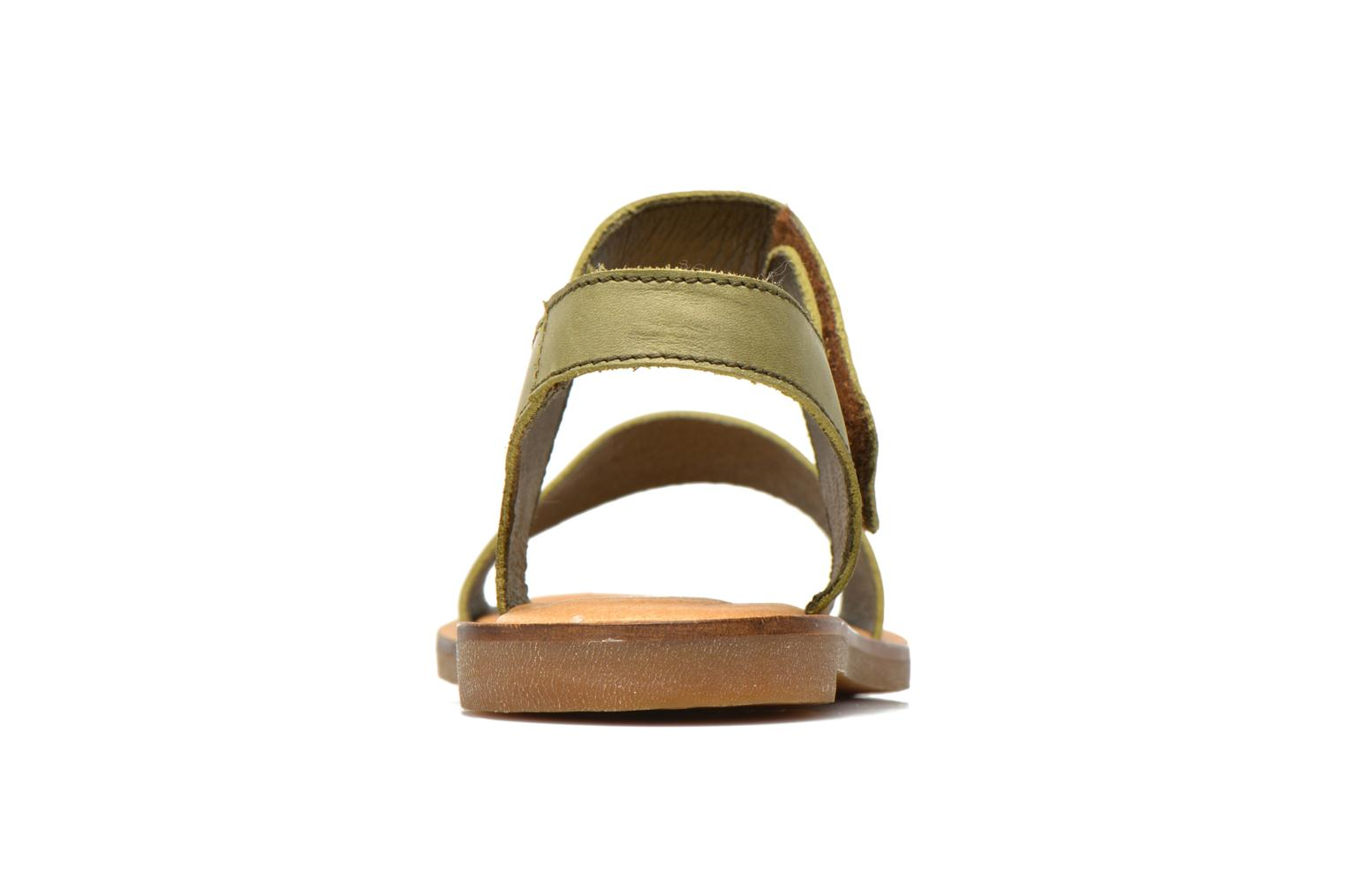 Sandals El Naturalista Tulip NF30 Green view from the right