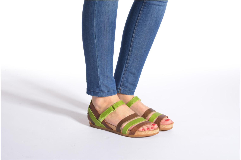 Sandales et nu-pieds El Naturalista Zumaia NF42 Multicolore vue bas / vue portée sac