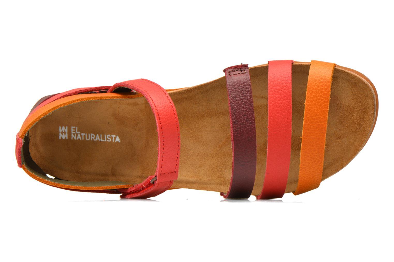 Sandalias El Naturalista Zumaia NF42 Multicolor vista lateral izquierda