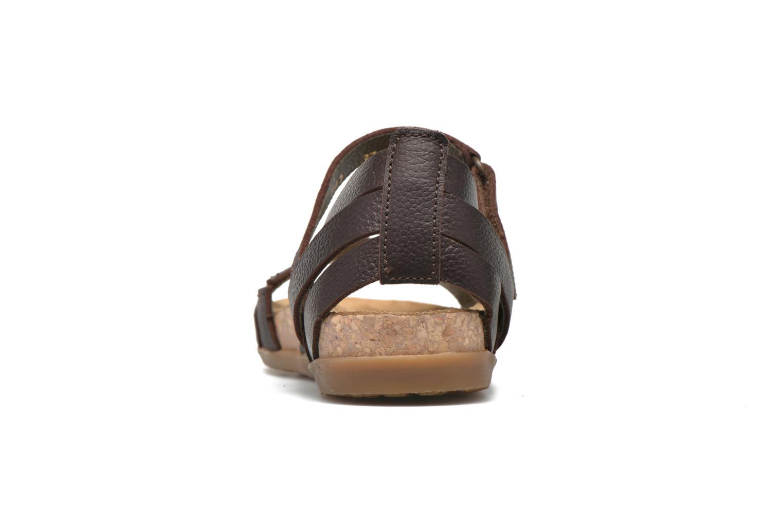 Sandales et nu-pieds El Naturalista Zumaia NF42 Marron vue droite