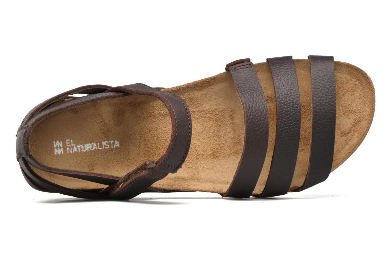 Sandales et nu-pieds El Naturalista Zumaia NF42 Marron vue gauche