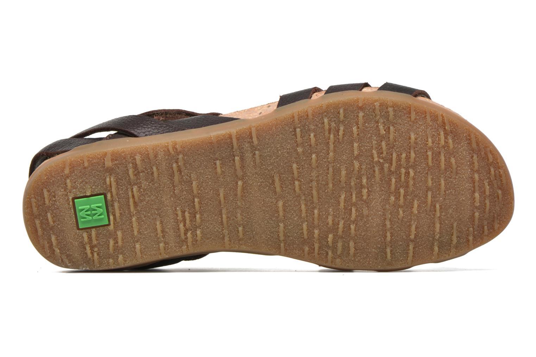 Sandales et nu-pieds El Naturalista Zumaia NF42 Marron vue haut