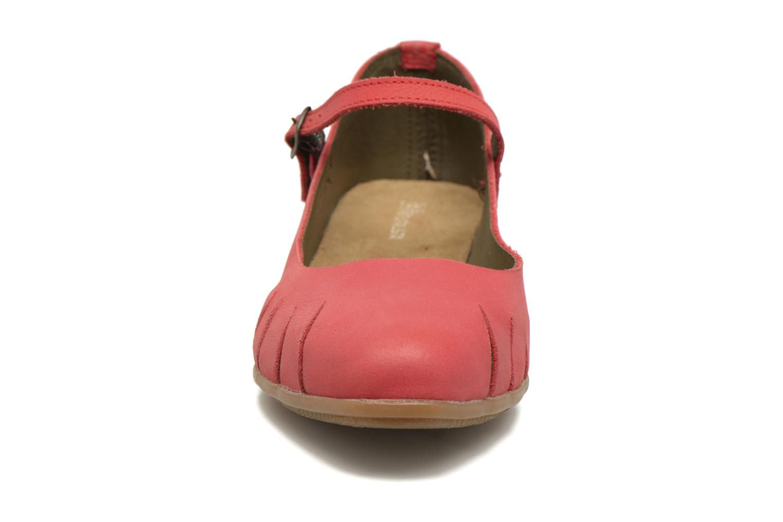Ballerines El Naturalista Stella ND53 Rouge vue portées chaussures