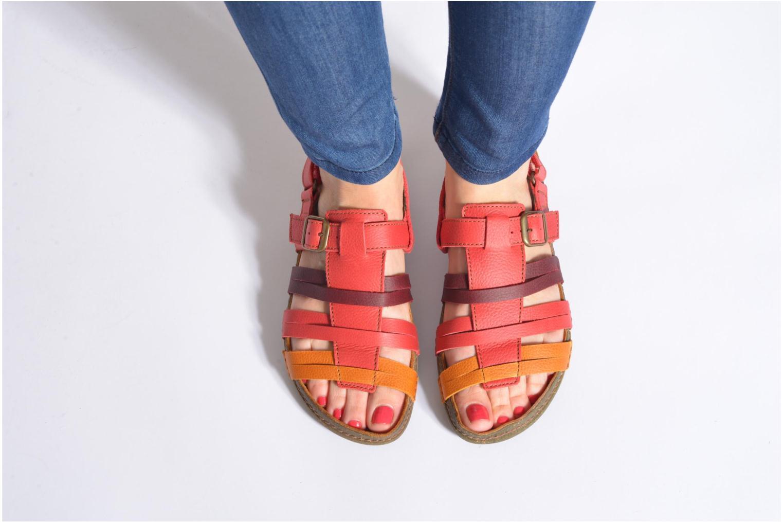 Sandales et nu-pieds El Naturalista Torcal N337 Multicolore vue bas / vue portée sac