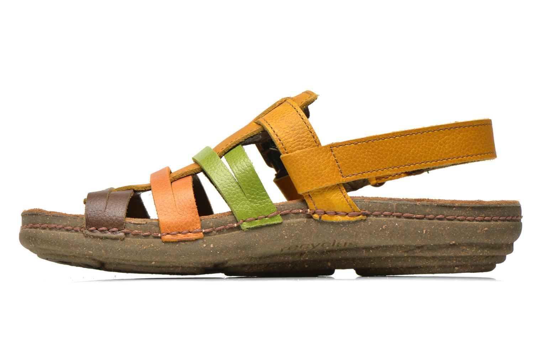 Sandales et nu-pieds El Naturalista Torcal N337 Multicolore vue face