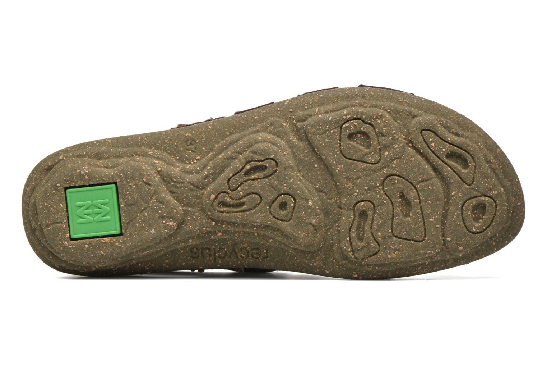 Sandales et nu-pieds El Naturalista Torcal N337 Marron vue haut