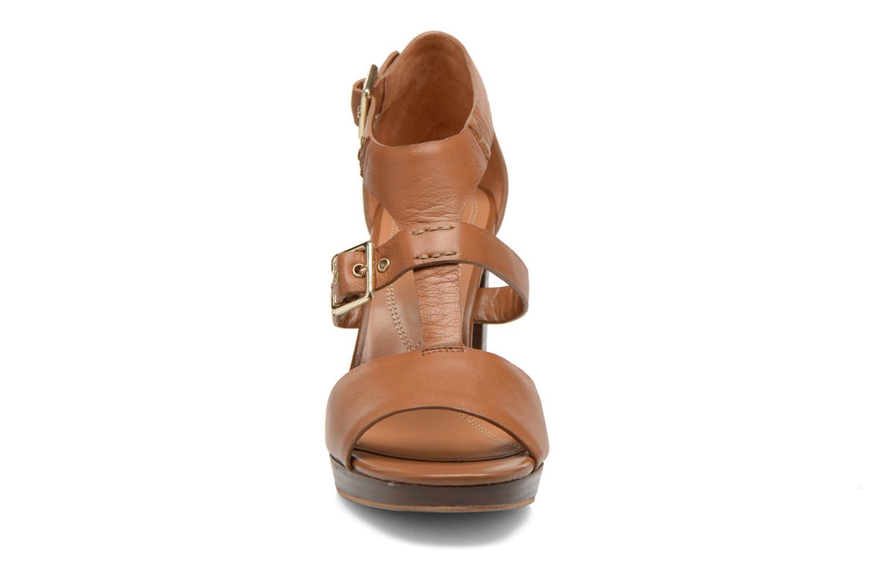 Sandales et nu-pieds Bruno Premi Ezli Marron vue portées chaussures