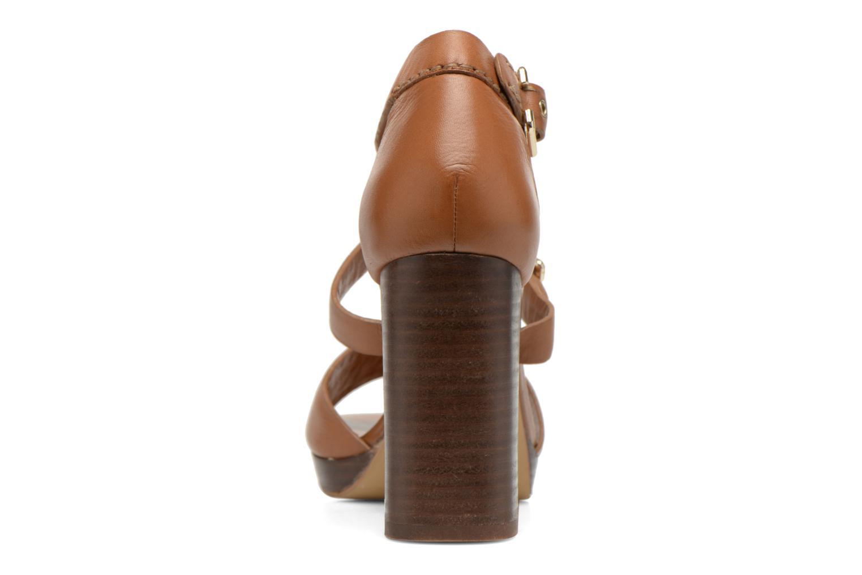 Sandales et nu-pieds Bruno Premi Ezli Marron vue droite
