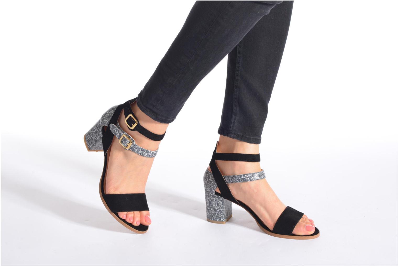 Sandales et nu-pieds Made by SARENZA Discow Girl #3 Multicolore vue bas / vue portée sac