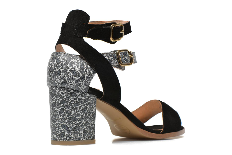 Sandales et nu-pieds Made by SARENZA Discow Girl #3 Multicolore vue portées chaussures